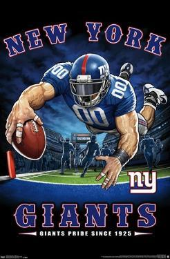 NFL New York Giants - End Zone 17