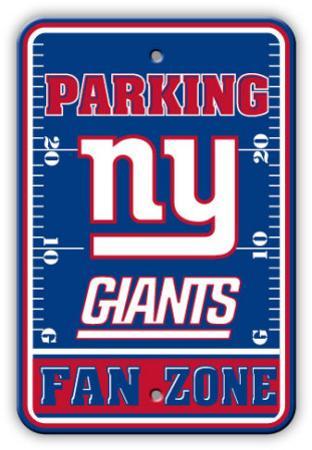 NFL New York Giants Parking Sign