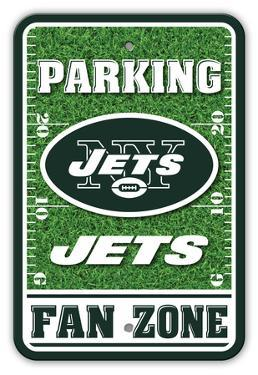 NFL New York Jets Field Zone Parking Sign