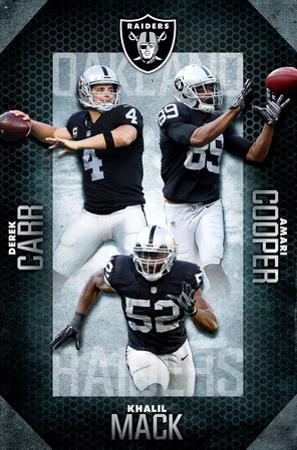 NFL: Oakland Raiders- 2016 Team