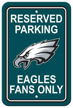 NFL Philadelphia Eagles Plastic Parking Sign - Reserved Parking