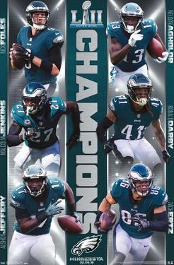 NFL Philadelphia Eagles - Super Bowl LII - Champions