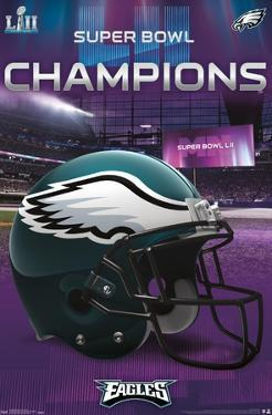 NFL Philadelphia Eagles - Super Bowl LII - Team Logo