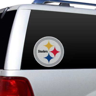NFL Pittsburgh Steelers Diecut Window Film