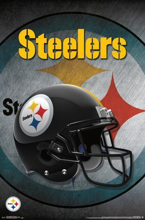 picture about Printable Steelers Logo identify Very affordable Pittsburgh Steelers Posters for sale at