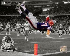 NFL Rob Gronkowski 2011 Spotlight Action