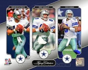 NFL Roger Staubach, Troy Aikman, & Tony Romo Legacy Collection