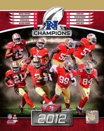 NFL San Francisco 49ers 2012 NFC Champions Composite