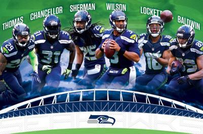 NFL: Seattle Seahawks- Team 16