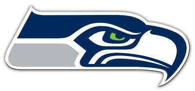 NFL Seattle Seahawks Vinyl Magnet