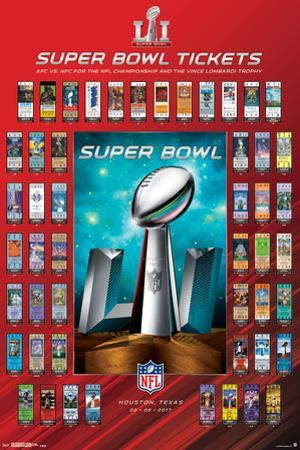 NFL: Super Bowl 51 Ticket Collection