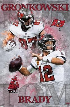 NFL Tampa Bay Buccaneers - Brady and Gronkowski 20