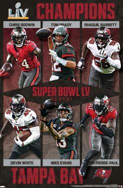 NFL Tampa Bay Buccaneers - Commemorative Super Bowl LV Champions