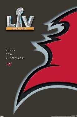 NFL Tampa Bay Buccaneers - Super Bowl LV Minimalist Logo