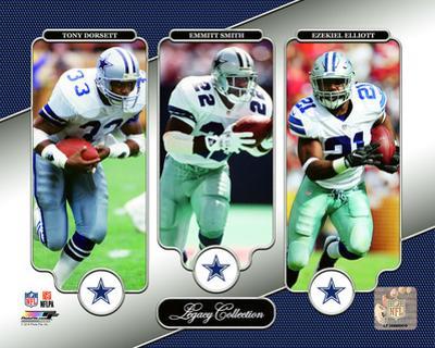 NFL: Tony Dorsett, Emmitt Smith, Ezekiel Elliott Legacy Collection