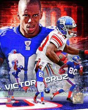 NFL Victor Cruz 2012 Portrait Plus