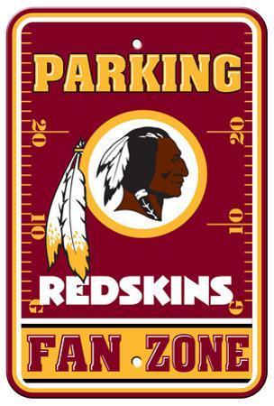 NFL Washington Redskins Plastic Parking Sign - Fan Zone