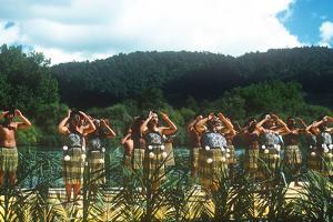 Ngaruawahia River Regatta, Maori Festival, Ngaruawahia, New Zealand