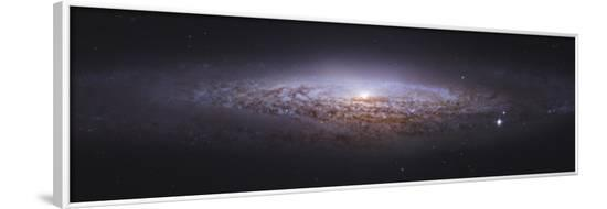 NGC 2683, Unbarred Spiral Galaxy in Lynx--Framed Photographic Print