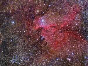 Ngc 6188 Emission Nebula in the Constellation Ara