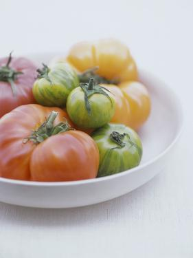 Tomatoes in Bowl by Ngoc Minh and Julian Wass