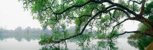 Hanoi Ho Guom Lake by Nhiem Hoang The