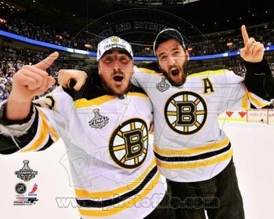 NHL Brad Marchand & Patrice Bergeron Game 7 of the 2011 NHL Stanley Cup Finals(#57)