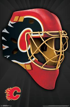 NHL: Calgary Flames- Logo Mask 16