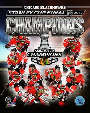 NHL Chicago Blackhawks 2013 NHL Stanley Cup Champions Composite