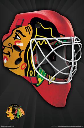 NHL: Chicago Blackhawks- Logo Mask 16