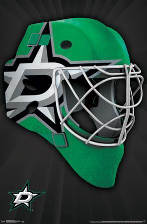 NHL: Dallas Stars- Logo Mask 16