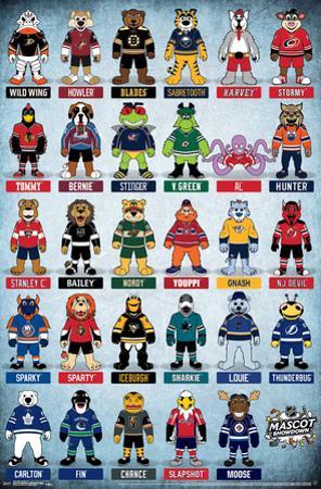 NHL - MASCOTS 17