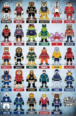 NHL Mascots 17