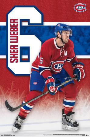 NHL: Montreal Canadiens- Shea Weber 16