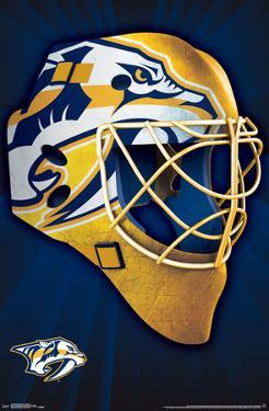 NHL: Nashville Predators- Logo Mask 16