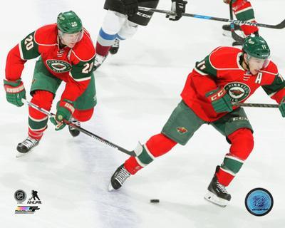 NHL: Ryan Suter & Zach Parise 2016-17 Action