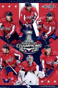 NHL Stanley Cup - Champions 2018 18