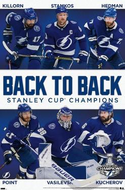 NHL Tampa Bay Lightning - 2021 NHL Stanley Cup Champions
