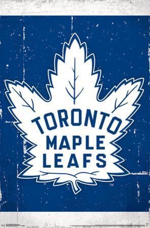 NHL: Toronto Maple Leafs- Retro Distressed Logo