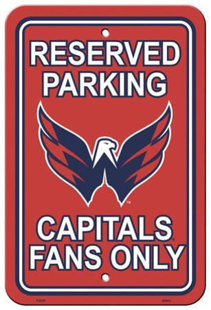 NHL Washington Capitals Parking Sign