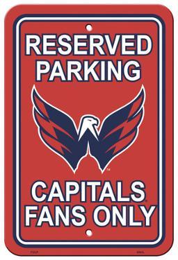 NHL Washington Capitals Parking Sign
