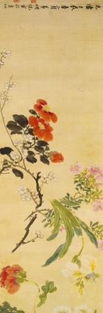 Flowers, 1892 by Ni Tian