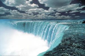 Niagara Falls (Color) Art Poster Print