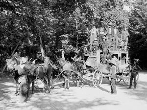 Niagara Falls, June 23D, 1898, Pawnee Bills Wild West Co.