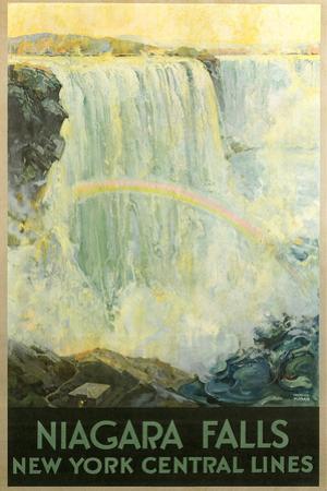 Niagara Falls Travel Poster