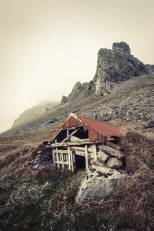 Abandoned Shelter Near Stokkness, Iceland, September 2015 by Niall Benvie