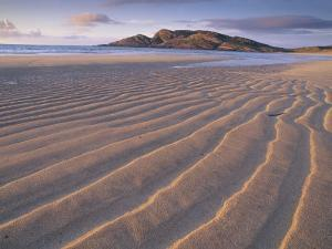 Sand Patterns on the Beach Coll Inner Hebrides, Scotland, UK by Niall Benvie