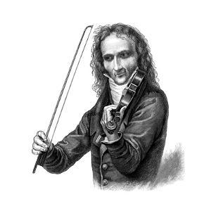 Niccolò Paganini, Italian Violinist, Violist and Composer, 1830s
