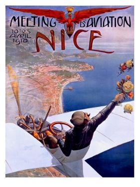 Nice Aviation Air Show Poster