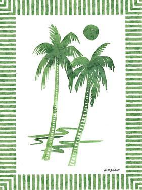 Green Palms I by Nicholas Biscardi